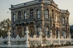 Kucuksu Pavilion in Bosporus, Istanbul Royalty Free Stock Photography