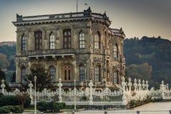 Kucuksu Pavilion in Bosporus, Istanbul Royalty Free Stock Image