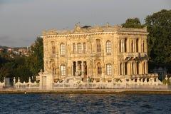 Kucuksu paviljong i istanbul Turkiet Arkivfoton