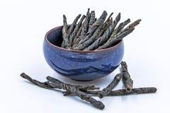 Kudin - στριμμένα φύλλα Στοκ φωτογραφία με δικαίωμα ελεύθερης χρήσης