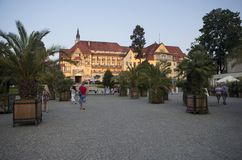 Kudowa Zdroj i Polen Royaltyfri Bild
