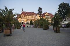 Kudowa Zdroj in Polen royalty-vrije stock afbeelding