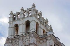 Kudrinskaya方形大厦的塔 库存照片
