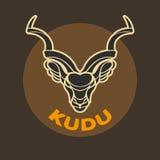 KUDU logo Zdjęcia Stock
