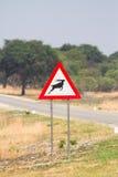 Kudu Zeichen Lizenzfreie Stockfotos