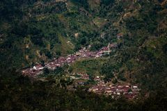 Kudus Indonesia del pueblo de Duplak imágenes de archivo libres de regalías