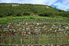 Kuelap Archaeological Site, the Ancient Mountaintop Citadel in Amazonas Region, Northern Peru. South America stock images