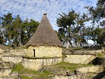 Kuelap Fortress,Chachapoyas, Amazonas, Peru. Royalty Free Stock Photography