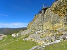 Kuelap Fortress,Chachapoyas, Amazonas, Peru. Royalty Free Stock Images