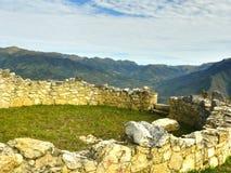 Kuelap Fortress,Chachapoyas, Amazonas, Peru. Royalty Free Stock Image