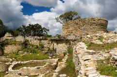 Kuelap is a mountaintop fortress city near Chachapoyas, Peru, Stock Image