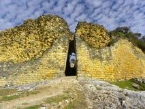 kuelap peru för amazonaschachapoyasfästning Arkivfoto