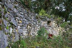 Kuelap Ruins Window Stock Photo