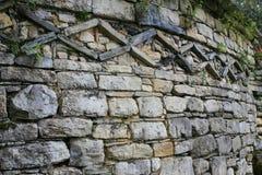 Kuelap Ruins Window Royalty Free Stock Photography