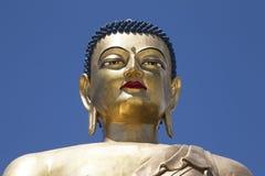 Kuensel Phodrang或菩萨点 免版税库存照片