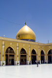 Kufa Mosque. Kufa, Najaf, Iraq – May 31 2014: It is one of the oldest mosques in the Islamic Iraq, for Shiite community in Iraq and the world. And currently Royalty Free Stock Image