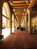 Kufa Mosque. Kufa, Najaf, Iraq – May 31 2014: It is one of the oldest mosques in the Islamic Iraq, for Shiite community in Iraq and the world. And currently Stock Image