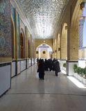 Kufa Mosque. Kufa, Najaf, Iraq – May 31 2014: It is one of the oldest mosques in the Islamic Iraq, for Shiite community in Iraq and the world. And stock photography