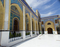 Kufa Mosque. Kufa, Najaf, Iraq – May 31 2014: It is one of the oldest mosques in the Islamic Iraq, for Shiite community in Iraq and the world. And stock photos