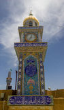 Kufa Mosque. Kufa, Najaf, Iraq – May 31 2014: It is one of the oldest mosques in the Islamic Iraq, for Shiite community in Iraq and the world. And currently Stock Images