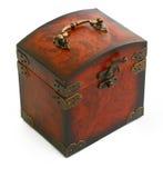 kufer antyczny drewniane Obrazy Stock
