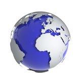 Kugel 3d der Erde Lizenzfreie Stockbilder