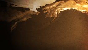 Kugel der Alten Welt (HD-Schleife) lizenzfreie abbildung