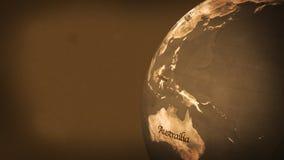 Kugel der Alten Welt (HD-Schleife) stock abbildung