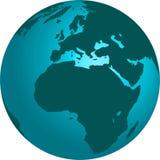Kugel der Erde 3d Lizenzfreies Stockbild