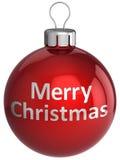 Kugel der frohen Weihnachten (Mieten) Stockfotos