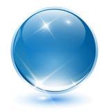 Kugel des Kristalles 3D Lizenzfreie Stockbilder