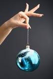 Kugel des neuen Jahres Stockfotos