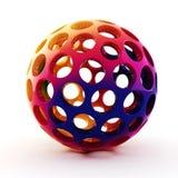 Kugel des Regenbogens 3d Stockfotografie