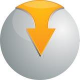 Kugel des Vektor 3D Lizenzfreie Stockbilder