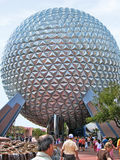 Kugel Disneys Epcot Stockfotografie