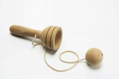 Kugel in einem Cup-Spielzeug Stockfoto