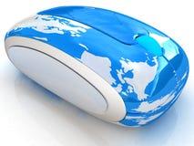 Kugel-Erde Online Lizenzfreie Stockfotos
