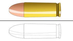 Kugel für die Färbung Lizenzfreie Stockfotos