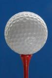 Kugel für ein Golf Stockbilder