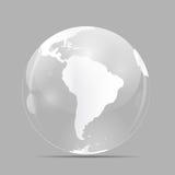 Kugel-Ikonen-Vektor-Illustration Lizenzfreies Stockfoto