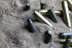 Kugel im Sand Lizenzfreie Stockbilder