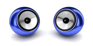 Kugel-Lautsprecher-Paare Lizenzfreie Stockfotos