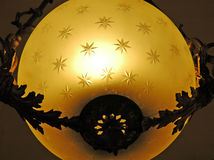 Kugel-Leuchte lizenzfreies stockbild