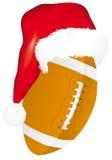Kugel mit Weihnachtshut Stockfotografie