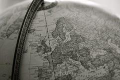 Kugel, Sepia lizenzfreie stockfotografie