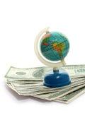 Kugel und Geld Lizenzfreies Stockfoto