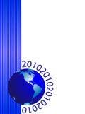Kugel und neues Jahr Lizenzfreie Stockfotos