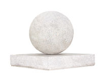 Kugel von einem Stein Lizenzfreies Stockbild