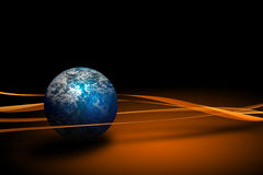 Kugel von Erde Lizenzfreies Stockbild