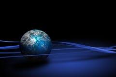 Kugel von Erde Stockbild